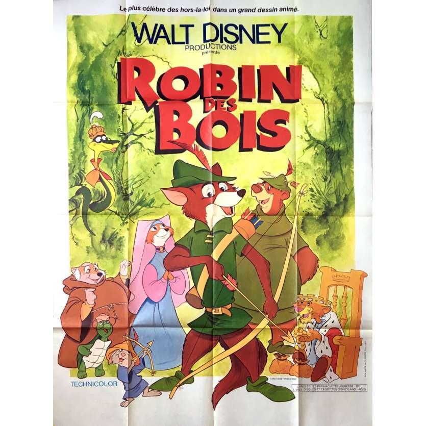 Robin Hood French Movie Poster 47x63 R78 Walt Disney Classic