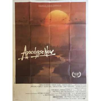 APOCALYPSE NOW Affiche de film - 120x160 cm. - 1979 - Marlon Brando, Francis Ford Coppola
