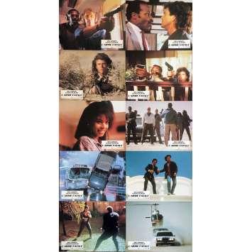 L'ARME FATALE Photos de film x10 - 21x30 cm. - 1987 - Mel Gibson, Richard Donner