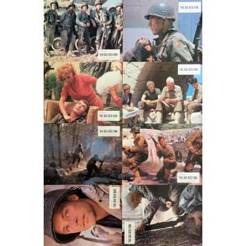 THE BIG RED ONE Photos de film x8 - 21x30 cm. - 1980 - Lee Marvin, Samuel Fuller