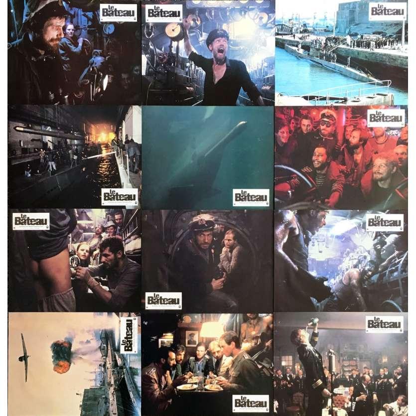 DAS BOOT Original Lobby Cards x12 - 9x12 in. - 1981 - Wolfgang Petersen, Jürgen Prochnov