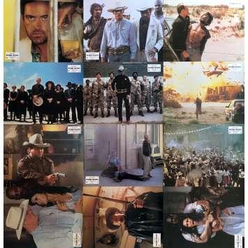 EXTREME PREJUDICE Photos de film x12 - 21x30 cm. - 1986 - Nick Nolte, Walter Hill