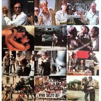 UNDER FIRE Photos de film x12 - 21x30 cm. - 1983 - Nick Nolte, Roger Spottiswoode