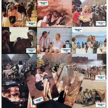 LE DIAMANT DU NIL Photos de film x14 - 21x30 cm. - 1985 - Michael Douglas, Kathleen Turner, Lewis Teague