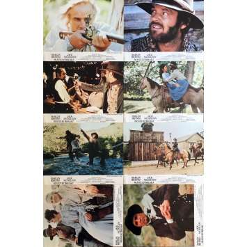 MISSOURI BREAKS Photos de film x8 - 21x30 cm. - 1976 - Jack Nicholson, Arthur Penn