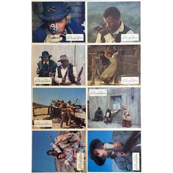 BUCK ET SON COMPLICE Photos de film x8 - 21x30 cm. - 1972 - Harry Belafonte, Sidney Poitier