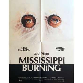MISSISSIPI BURNING Affiche de film - 60x80 cm. - 1988 - Gene Hackman, Alan Parker