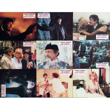 UN JUSTICIER DANS LA VILLE 2 Photos de film x9 - 21x30 cm. - 1982 - Charles Bronson, Michael Winner