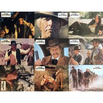 LA LOI DE LA HAINE Photos de film x9 - 21x30 cm. - 1976 - Charlton Heston, Andrew V. McLaglen