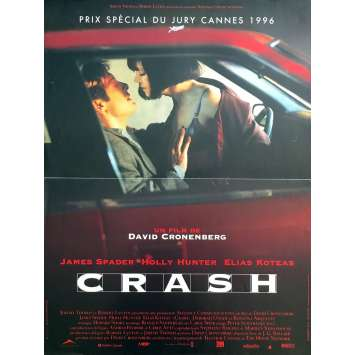 CRASH Affiche de film - 40x60 cm. - 1996 - Holly Hunter, David Cronenberg