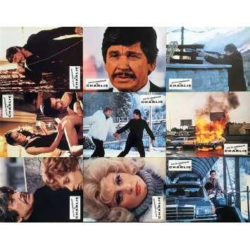 AVEC LES COMPLIMENTS DE CHARLIE Photos de film x9 - 21x30 cm. - 1979 - Charles Bronson, Stuart Rosenberg