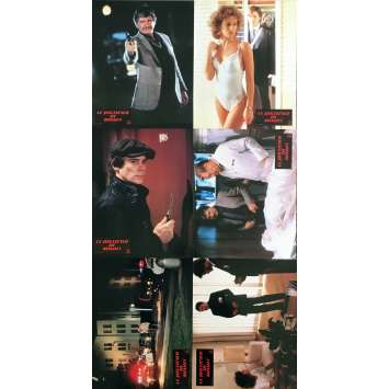 10 TO MIDNIGHT Original Lobby Cards x6 - 9x12 in. - 1983 - J. Lee Thomson, Charles Bronson