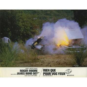 RIEN QUE POUR VOS YEUX Photo de film N03 - 21x30 cm. - 1981 - Roger Moore, James Bond