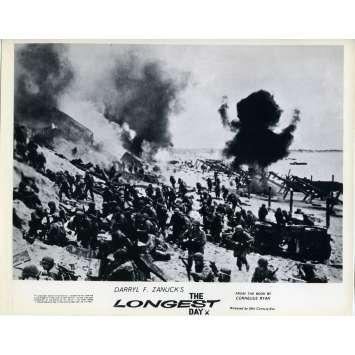 THE LONGEST DAY Original Lobby Card N07 - 8x10 in. - 1962 - Ken Annakin, John Wayne, Dean Martin