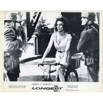 THE LONGEST DAY Original Lobby Card N05 - 8x10 in. - 1962 - Ken Annakin, John Wayne, Dean Martin