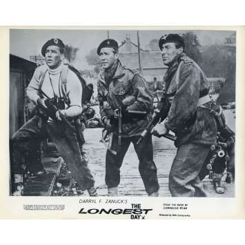 THE LONGEST DAY Original Lobby Card N04 - 8x10 in. - 1962 - Ken Annakin, John Wayne, Dean Martin