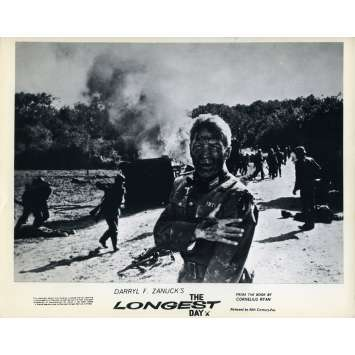 LE JOUR LE PLUS LONG Photo de film N02 - 20x25 cm. - 1962 - John Wayne, Dean Martin, Ken Annakin