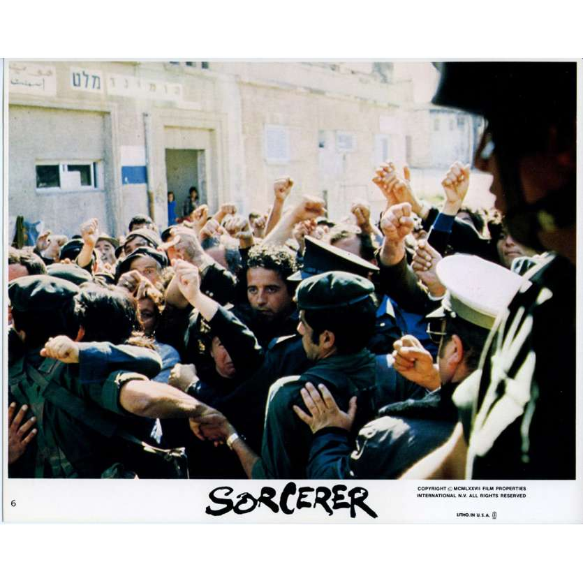 SORCERER Original Lobby Card N07 - 8x10 in. - 1977 - William Friedkin, Roy Sheider