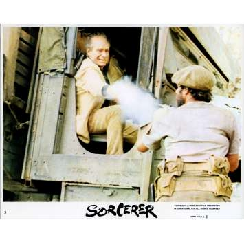 SORCERER Original Lobby Card N06 - 8x10 in. - 1977 - William Friedkin, Roy Sheider
