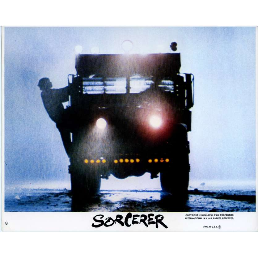 SORCERER Original Lobby Card N04 - 8x10 in. - 1977 - William Friedkin, Roy Sheider