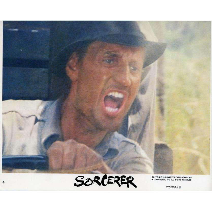 SORCERER Original Lobby Card N01 - 8x10 in. - 1977 - William Friedkin, Roy Sheider