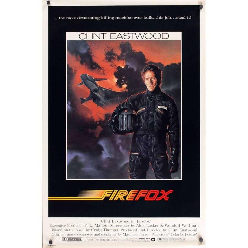 Mauvais-genres.com CLINT EASTWOOD Firefox Affiche du film USA 1982 Affiches cinéma