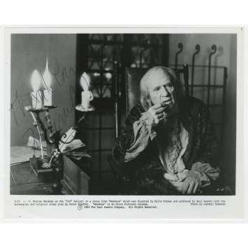 AMADEUS Photo de presse signée par F. MURRAY ABRAHAM - 1984 - Salieri
