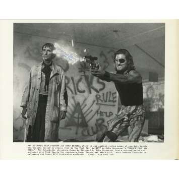 NEW-YORK 1997 Photo signée - 21x30 cm. - 1981 - Kurt Russel, John Carpenter