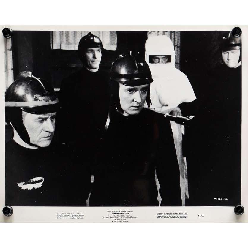 FARENHEIT 451 Photo de presse N02 - 20x25 cm. - 1966 - Julie Christie, François Truffaut