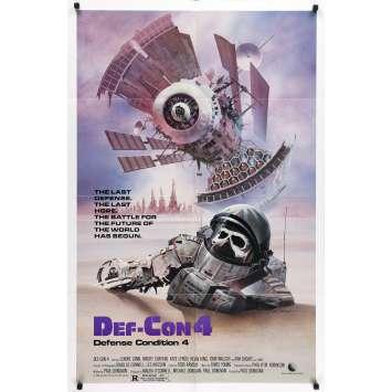 DEF-CON 4 Affiche de film - 69x102 cm. - 1984 - Lenore Zann, Paul Donovan