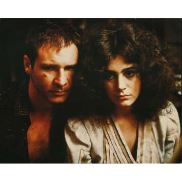 BLADE RUNNER Original Lobby Card N02 - Deluxe - 27x40 in. - 1982 - Ridley Scott, Harrison Ford