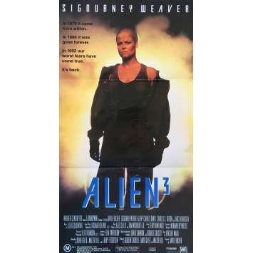ALIEN 3 Original Movie Poster - 13x30 in. - 1992 - David Fincher, Sigourney Weaver