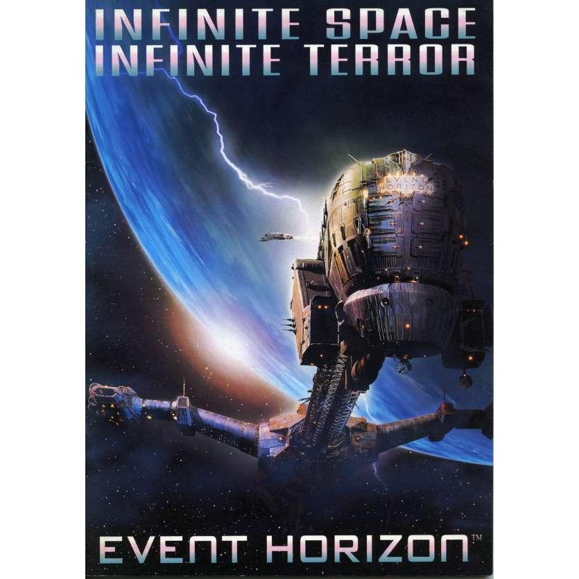 EVENT HORIZON Programme - 21x30 cm. - 1997 - Sam Neil, Paul W.S. Anderson