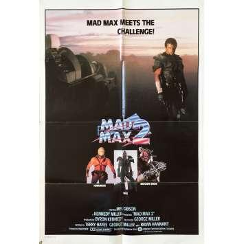 MAD MAX 2 Affiche de film - 69x102 cm. - 1982 - Mel Gibson, George Miller