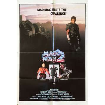 MAD MAX 2: THE ROAD WARRIOR Original Movie Poster - 27x40 in. - 1982 - George Miller, Mel Gibson