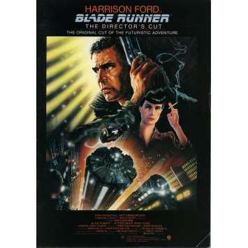BLADE RUNNER Japanese Program - 9x12 in. - R1992 - Ridley Scott, Harrison Ford