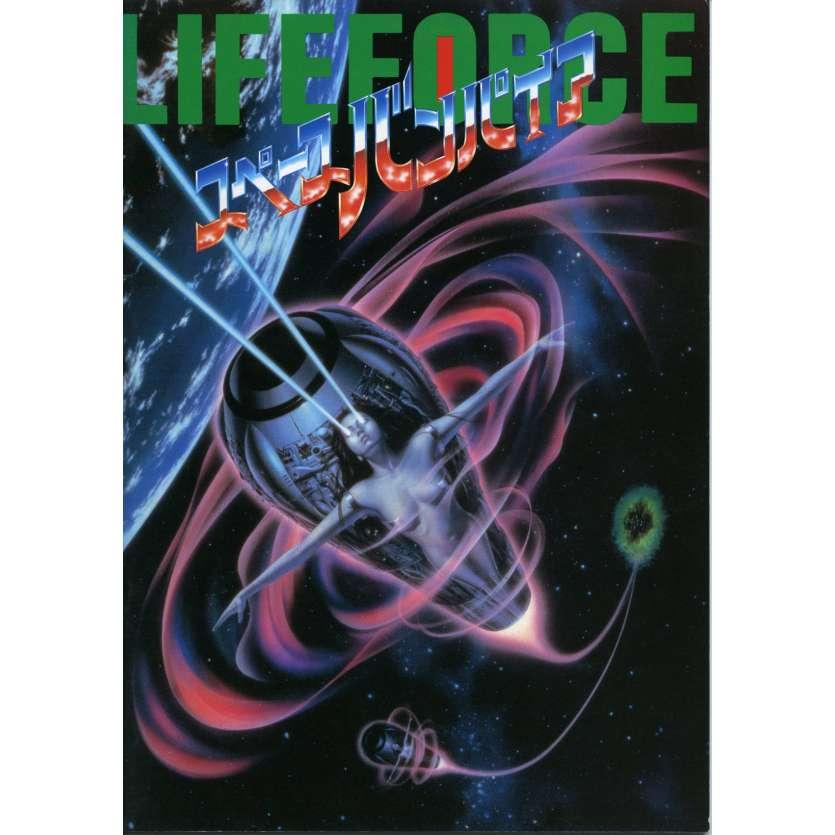 LIFEFORCE Programme - 21x30 cm. - 1985 - Mathilda May, Tobe Hooper