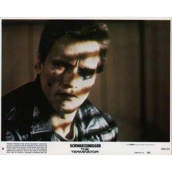 TERMINATOR Photo de film N08 - 20x25 cm. - 1983 - Arnold Schwarzenegger, James Cameron