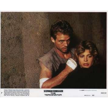 TERMINATOR Photo de film N07 - 20x25 cm. - 1983 - Arnold Schwarzenegger, James Cameron