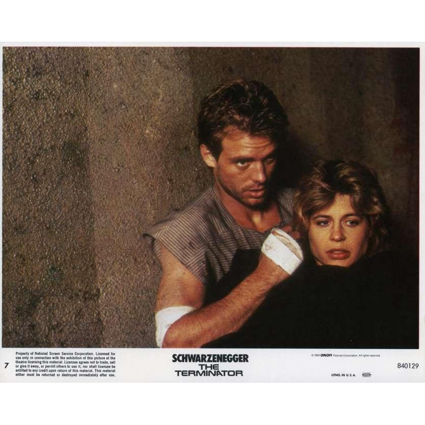 TERMINATOR Original Lobby Card N07 - 8x10 in. - 1983 - James Cameron, Arnold Schwarzenegger
