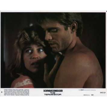 TERMINATOR Original Lobby Card N04 - 8x10 in. - 1983 - James Cameron, Arnold Schwarzenegger