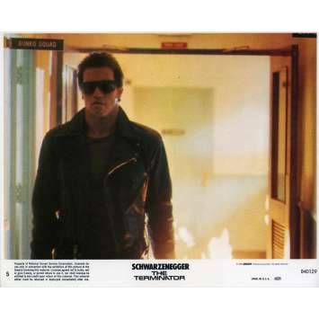 TERMINATOR Photo de film N05 - 20x25 cm. - 1983 - Arnold Schwarzenegger, James Cameron