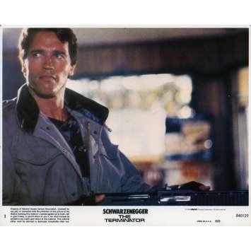 TERMINATOR Photo de film N01 - 20x25 cm. - 1983 - Arnold Schwarzenegger, James Cameron