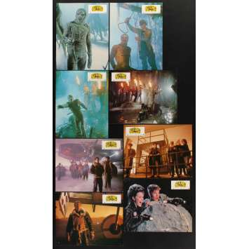 AMAZING STORIES 8 French LCs '87 Spielberg, Christopher Lloyd, Kevin Costner, Pinchot!