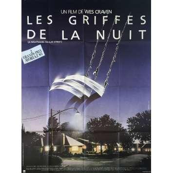 LES GRIFFES DE LA NUIT Affiche de film - 120x160 cm. - 1985 - Robert Englund, Wes Craven