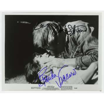 HOUSE BY THE LAKE Original Signed Photo - 8x10 in. - 1976 - William Fuet, Brenda Vaccaro