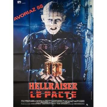 HELLRAISER Affiche de film - 120x160 cm. - 1992 - Doug Bradley, Clive Barker