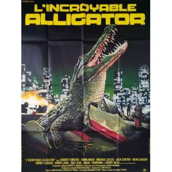 L'INCROYABLE ALLIGATOR Affiche de film - 120x160 cm. - 1980 - Robert Forster, Lewis Teague