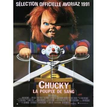 CHUCKY LA POUPEE DE SANG Affiche de film - 120x160 cm. - 1990 - Alex Vincent, John Lafia