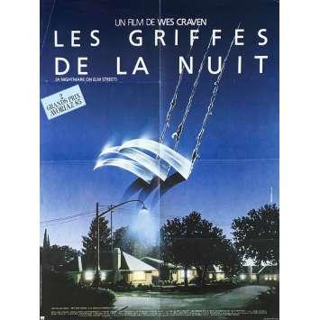 LES GRIFFES DE LA NUIT Affiche de film - 60x80 cm. - 1985 - Robert Englund, Wes Craven